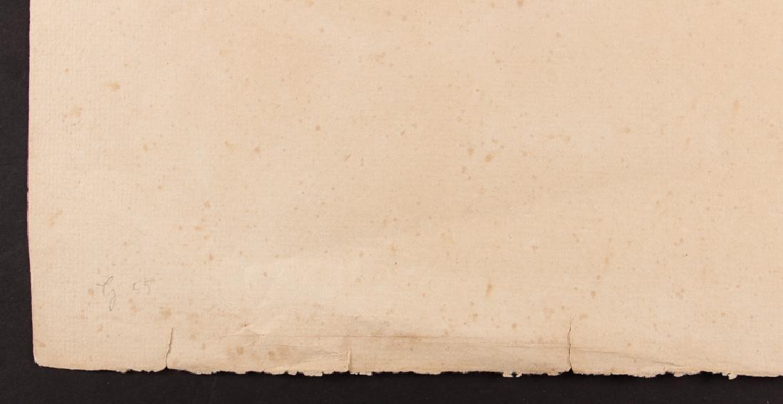 Paul-Albert Besnard 1886 etching La Misiere. - 6