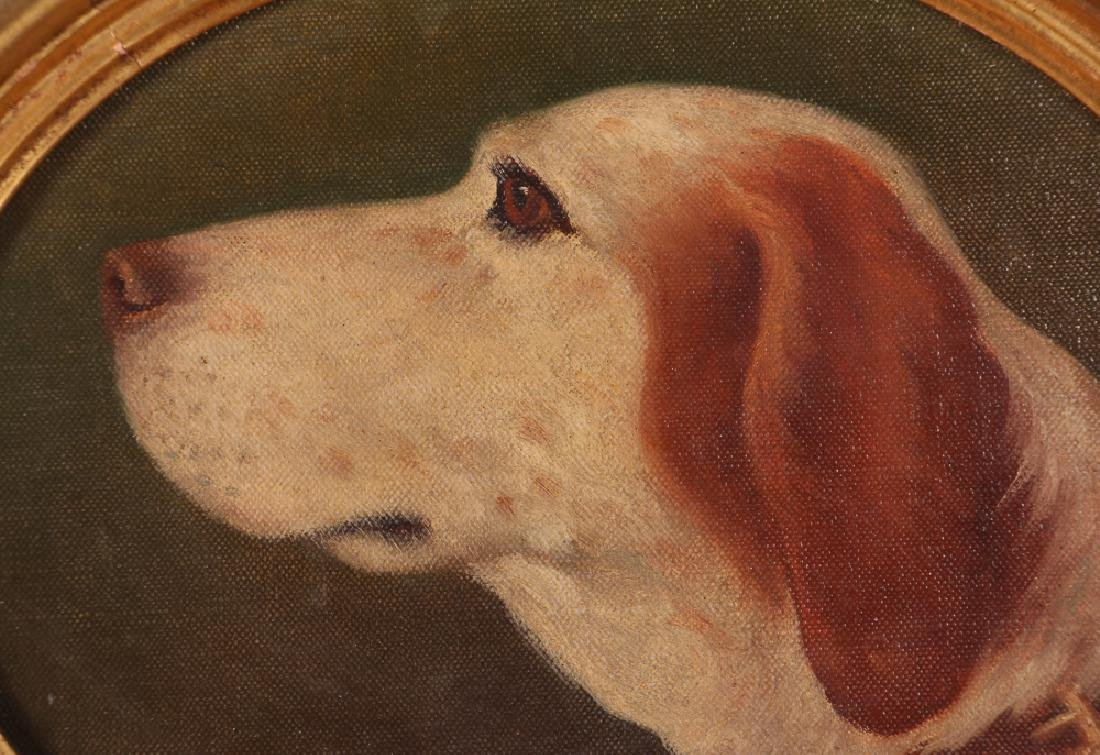 Clarence Francis Busch oval portrait of Dog - 4