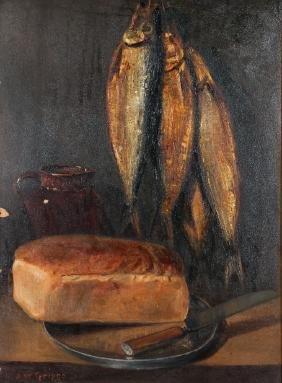Samuel Griggs Still Life Painting