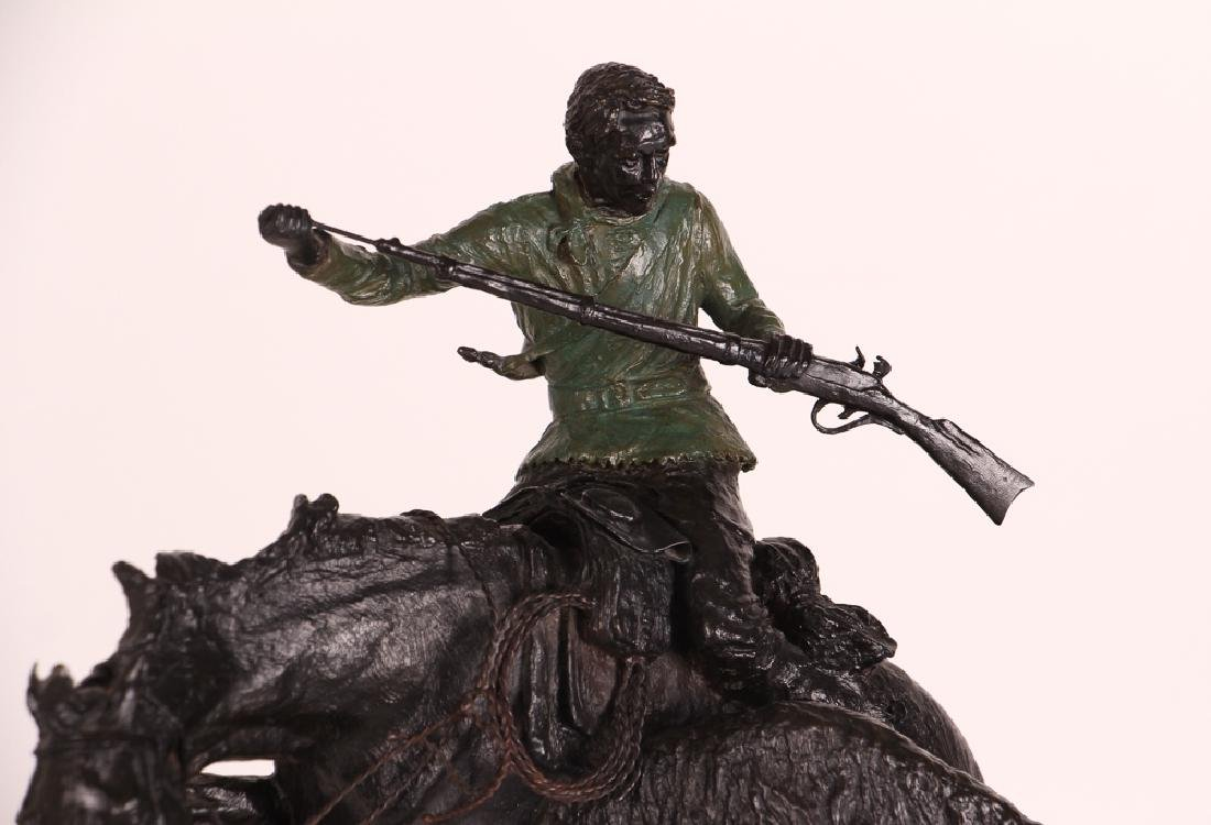 E. E. Heikka When Guns Were Slow Western Bronze - 2