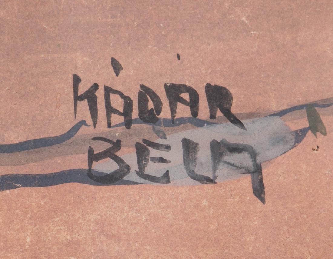 Bela Kadar gouache European Street in the Spring - 3