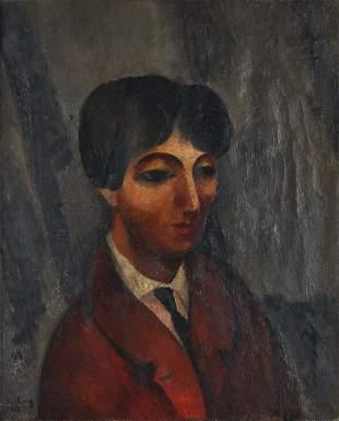 Moise Kisling Portrait of Jean Cocteau