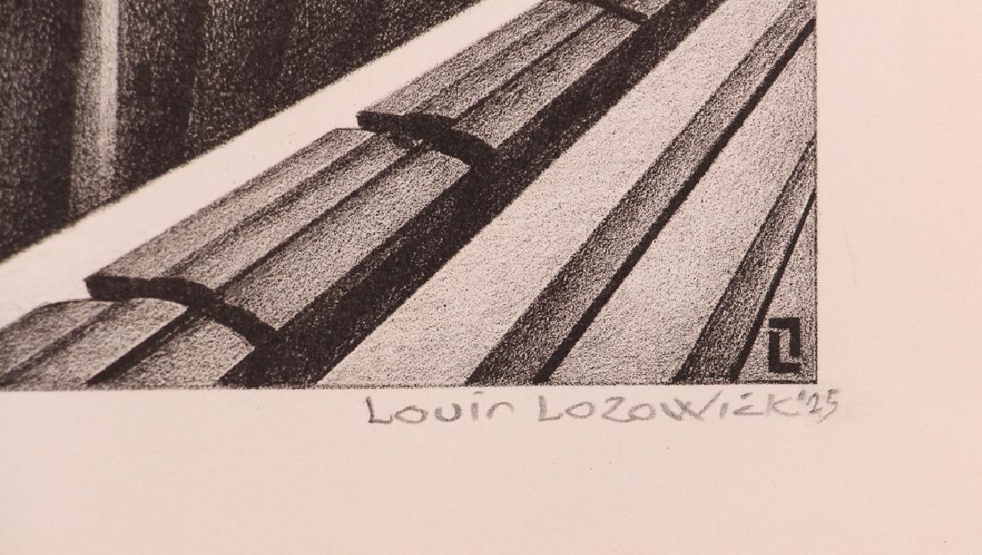 Louis Lozowick 1925 lithograph Minneapolis - 3