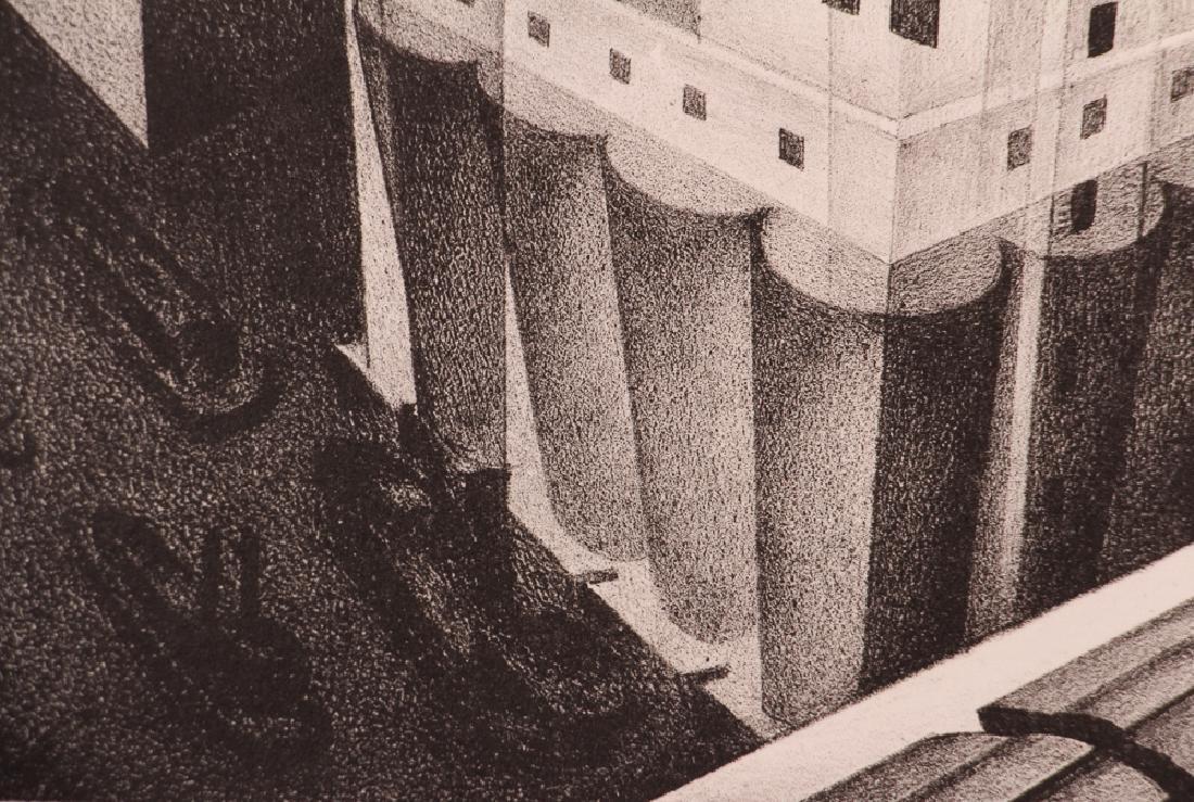 Louis Lozowick 1925 lithograph Minneapolis - 5