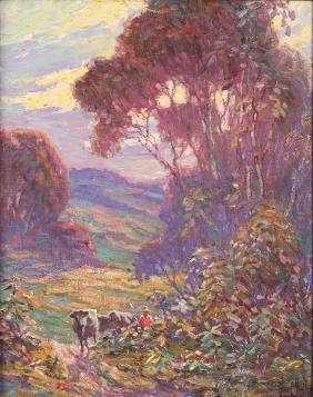 Glen Sheffer Impressionistic Painting