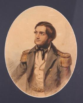 Herbert Smith British Naval Officer Portrait