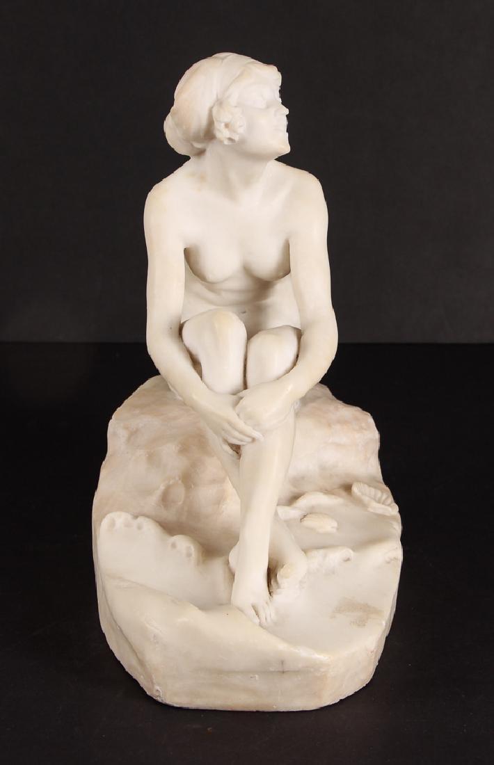 Fernando Vichi Seated Nude Sculpture - 2