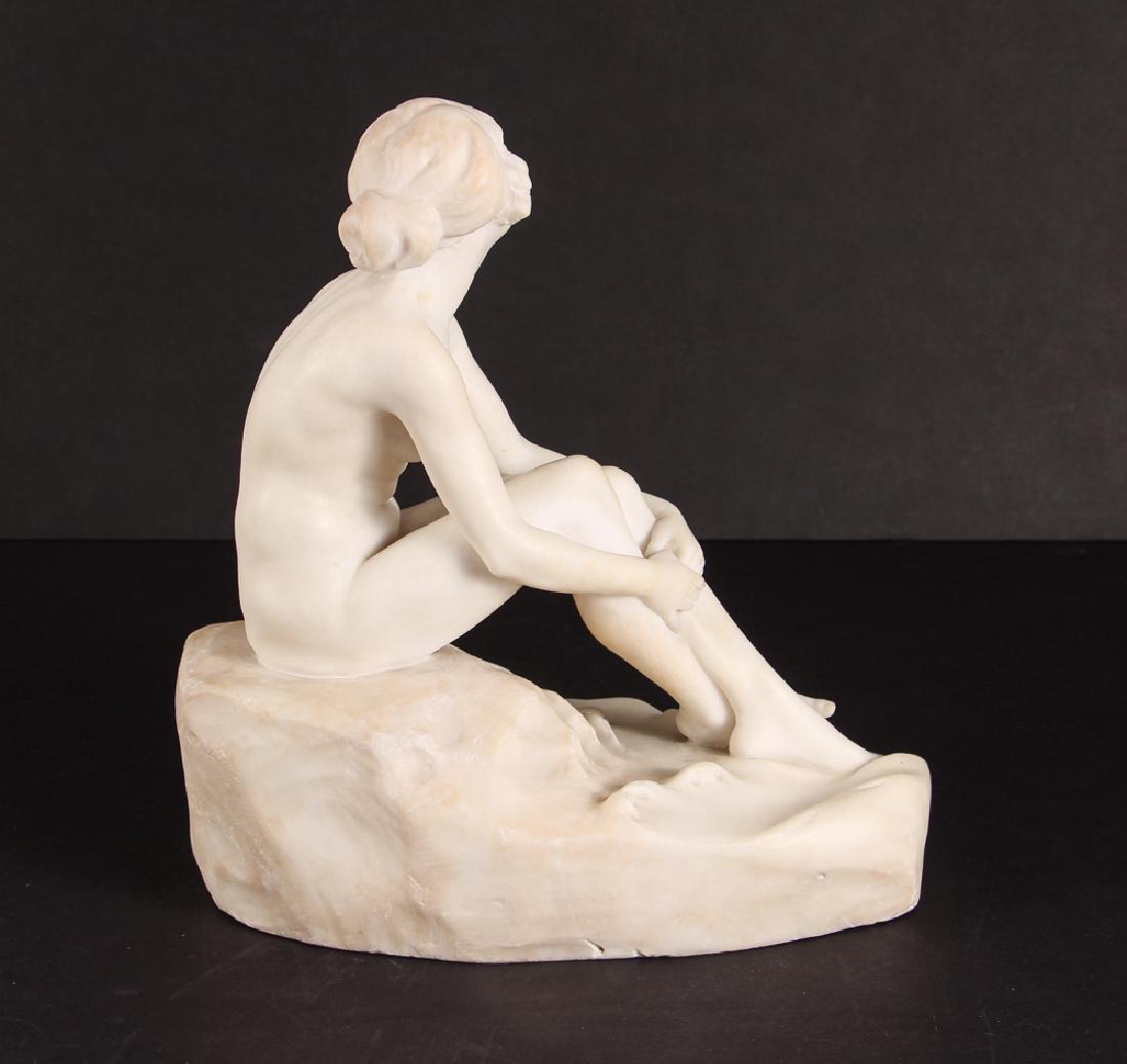 Fernando Vichi Seated Nude Sculpture - 3
