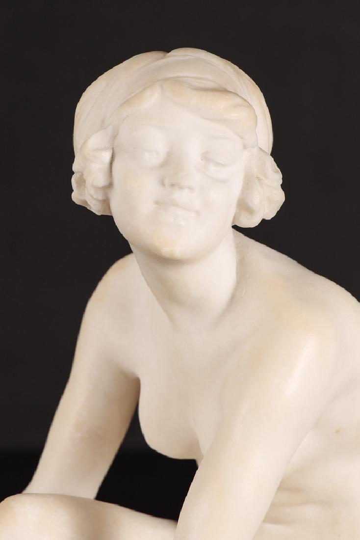 Fernando Vichi Seated Nude Sculpture - 5
