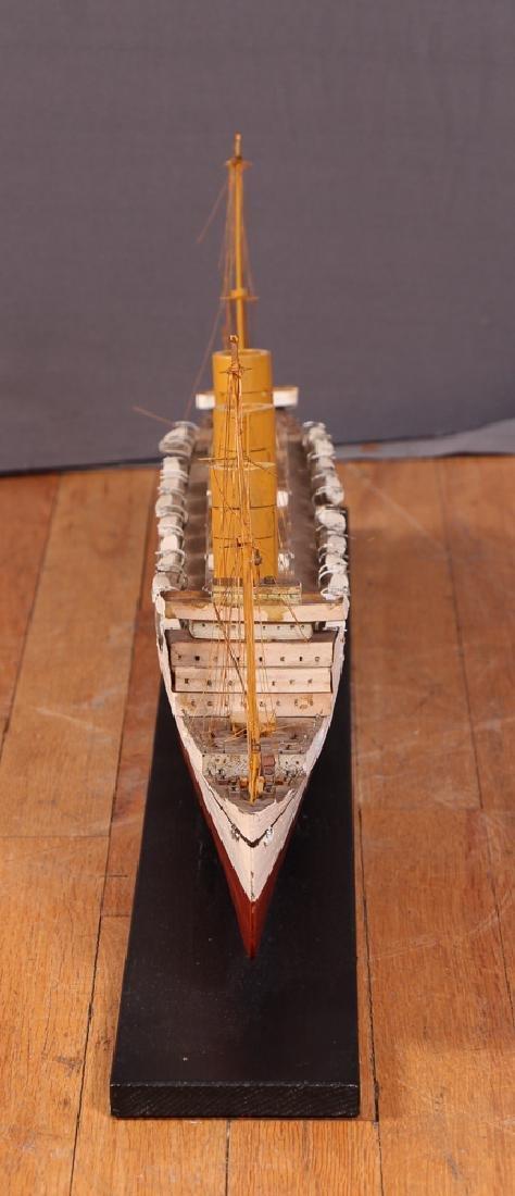 Folk Art Ship Model and Diorama - 10