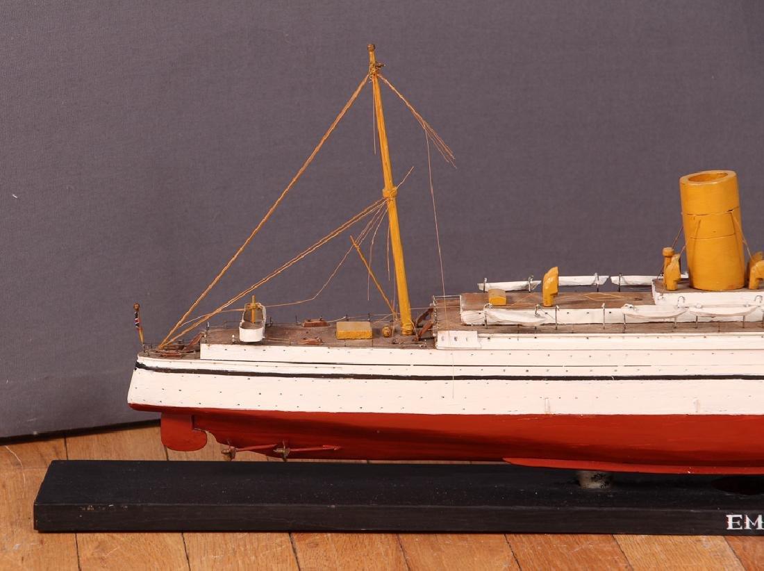 Folk Art Ship Model and Diorama - 9