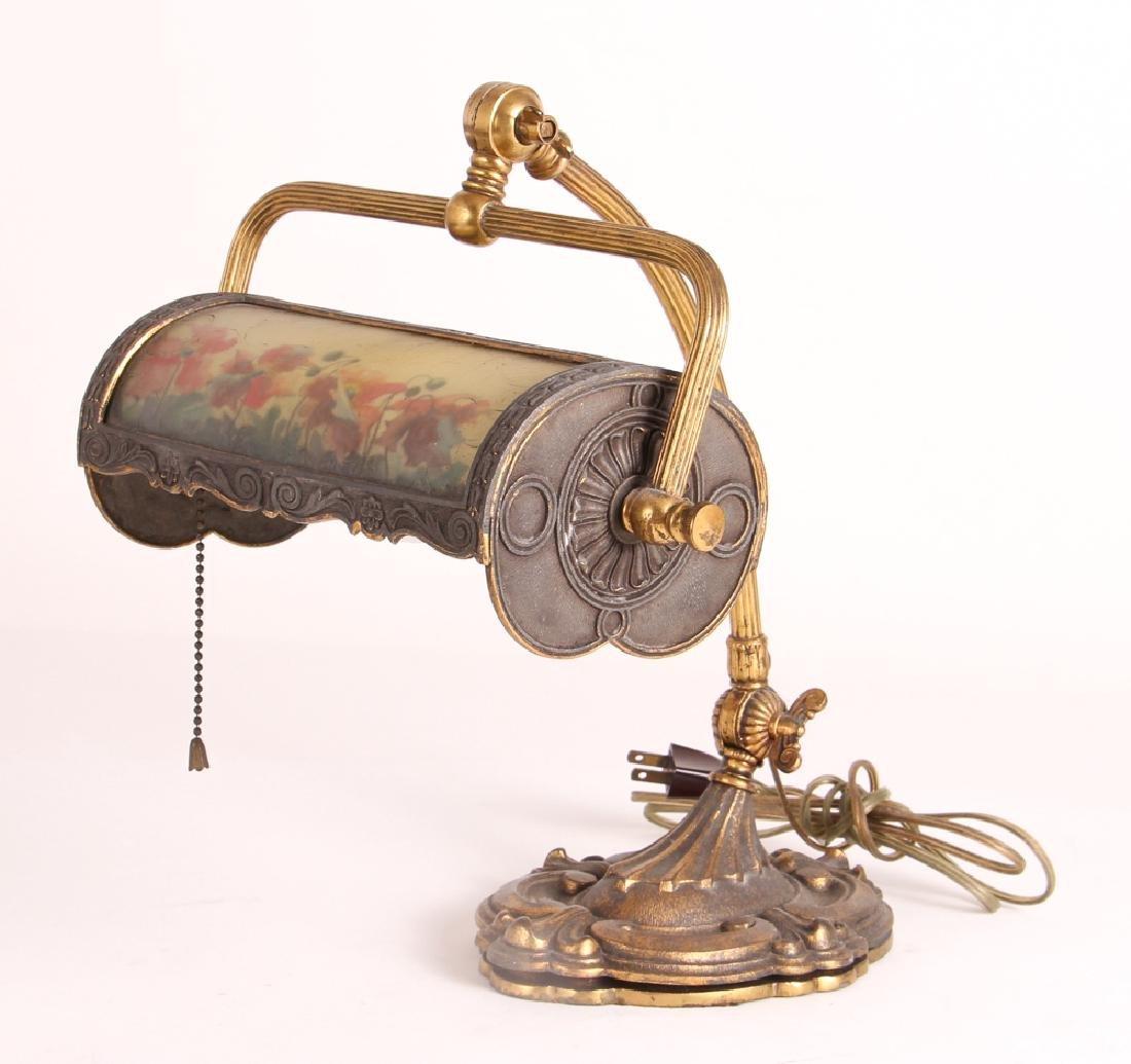 Miller Reverse Painted Desk Lamp