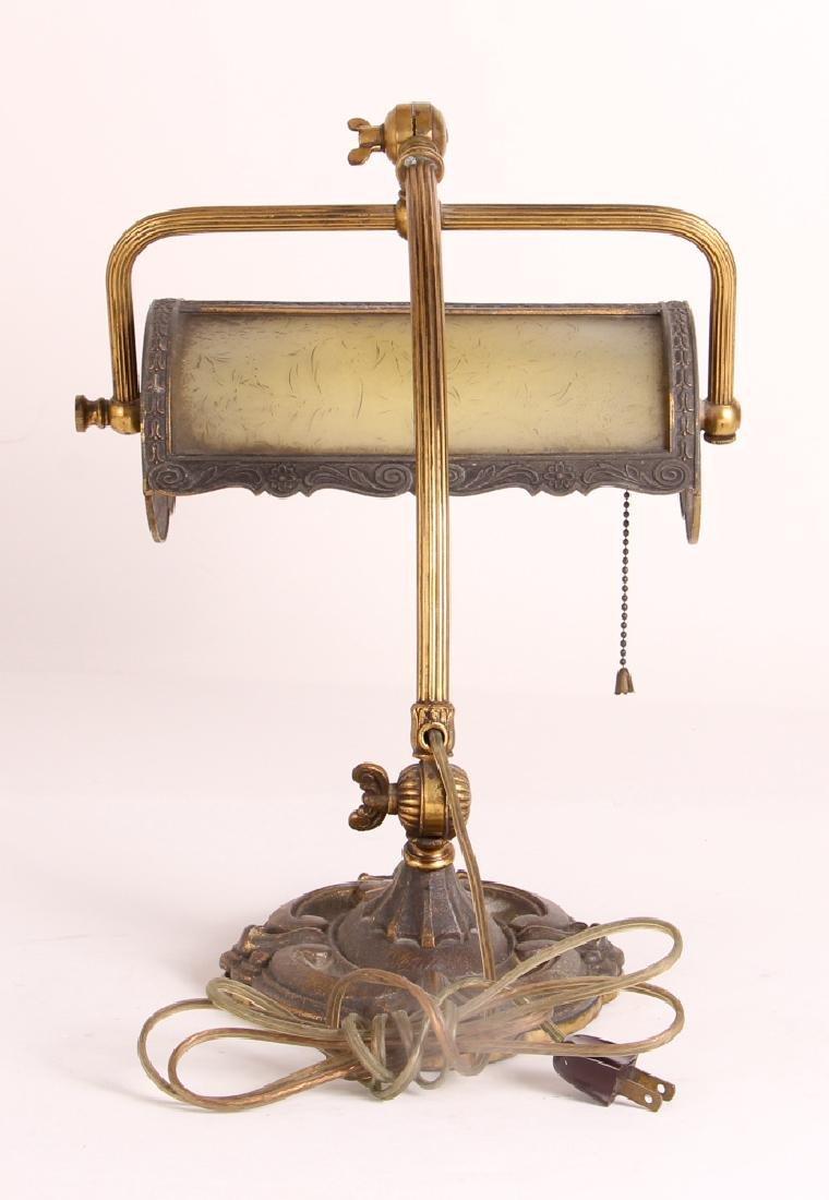 Miller Reverse Painted Desk Lamp - 4