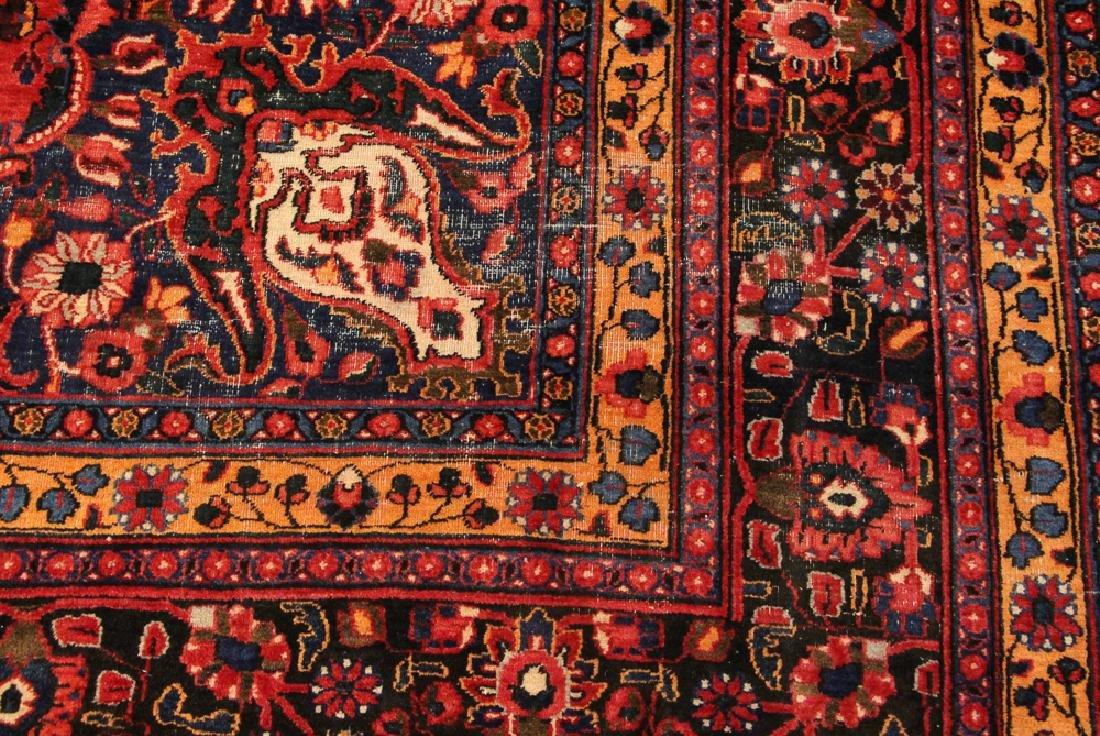 Bijar Style Center Medallion Oriental Rug - 5