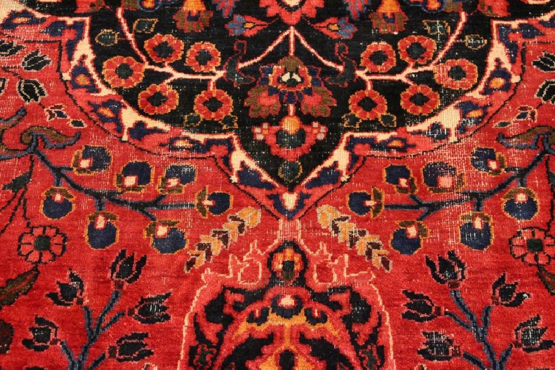 Bijar Style Center Medallion Oriental Rug - 6