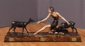 Jean de Roncourt Art Deco Sculpture