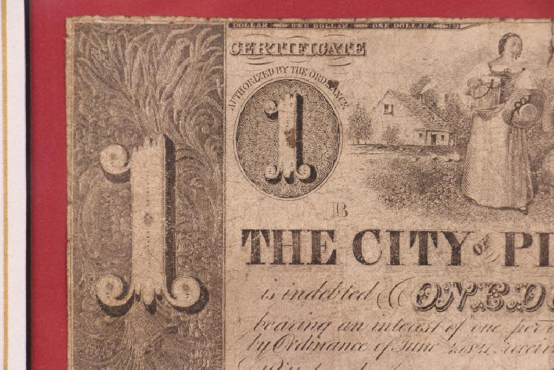 Pittsburgh Obsolete One Dollar Note - 4