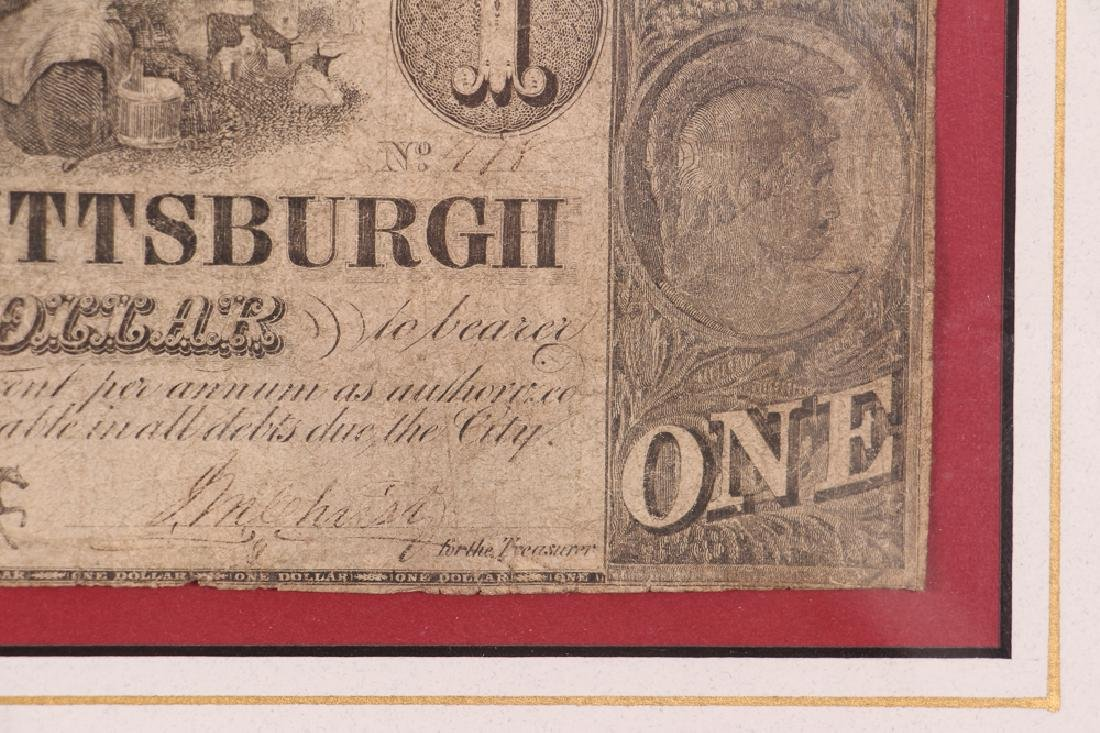 Pittsburgh Obsolete One Dollar Note - 5