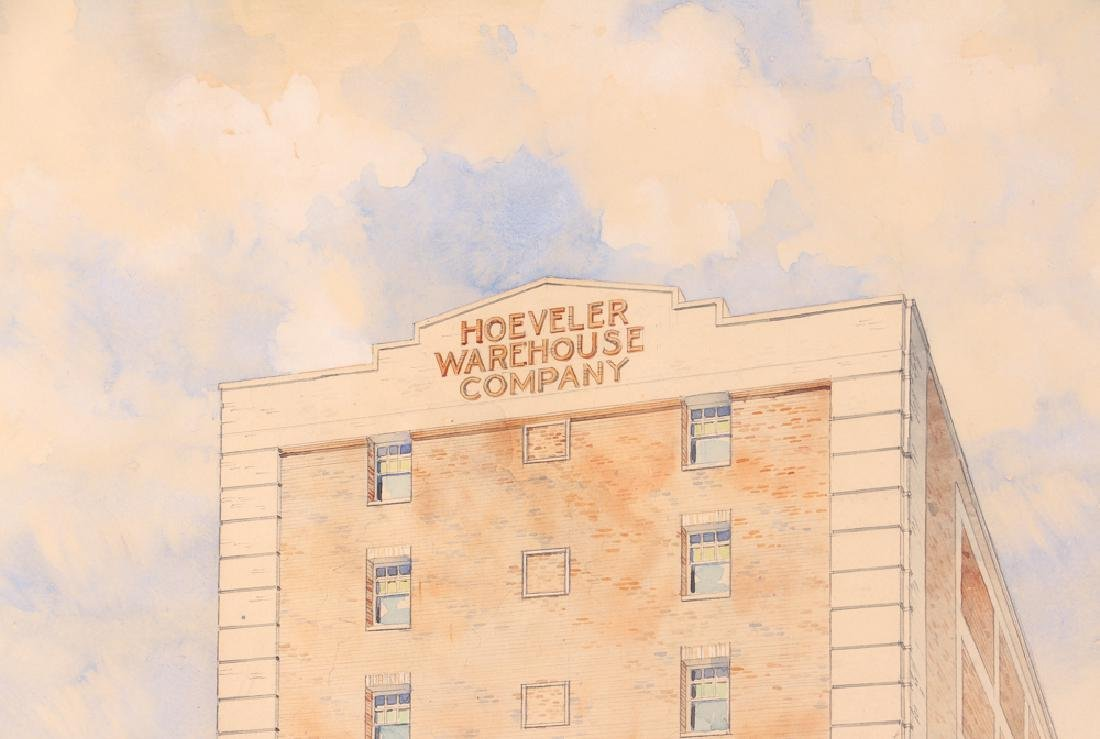 Pittsburgh PA Architectural Watercolor - 3