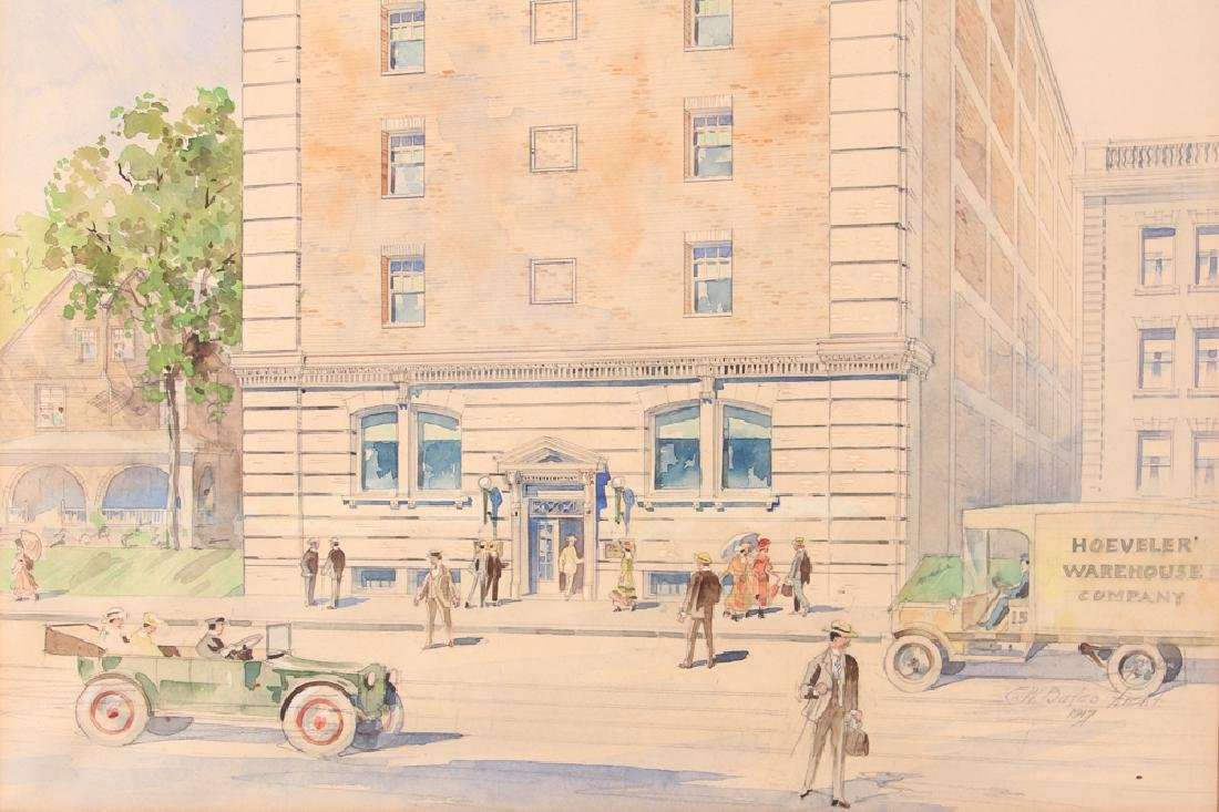 Pittsburgh PA Architectural Watercolor - 5