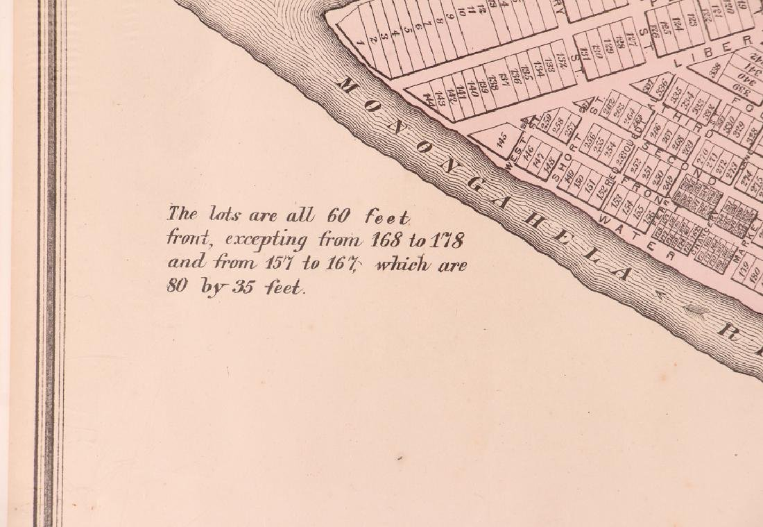 Pittsburgh Point 1872 Third Ward Plot Map - 4