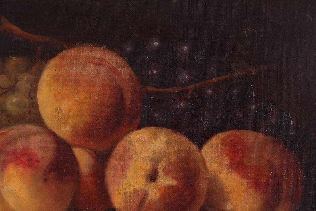 Attrib. A. F. King Still Life with Nectarines Painting - 5