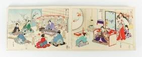 Japanese Woodblock Print Book