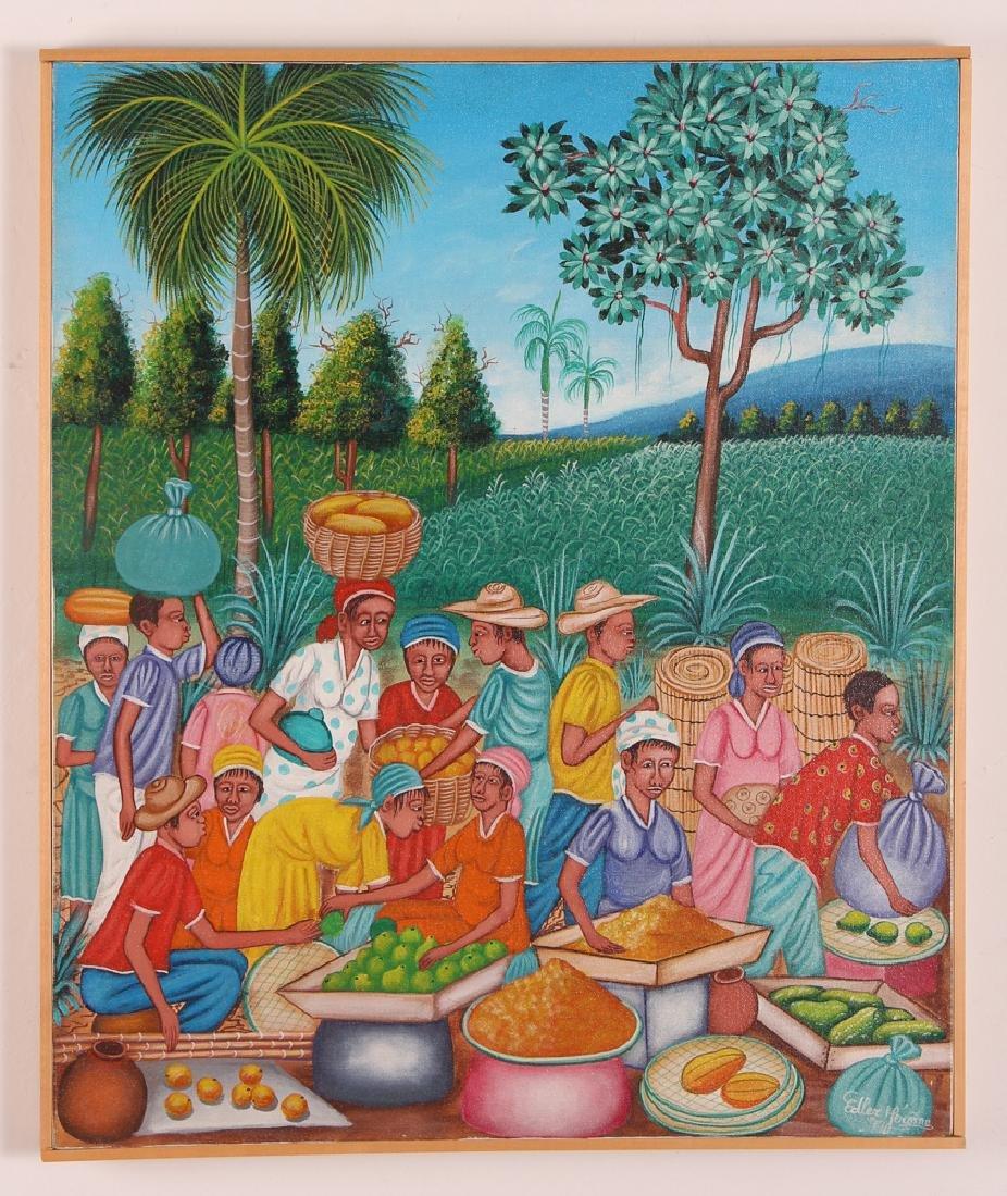 Edler Jerome Haitian Painting