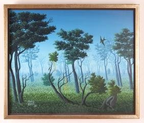 Avril Forest Haitian Painting