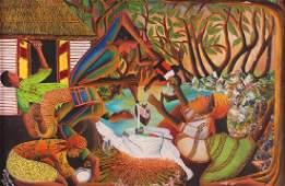 Wilimino Domond Haitian Painting