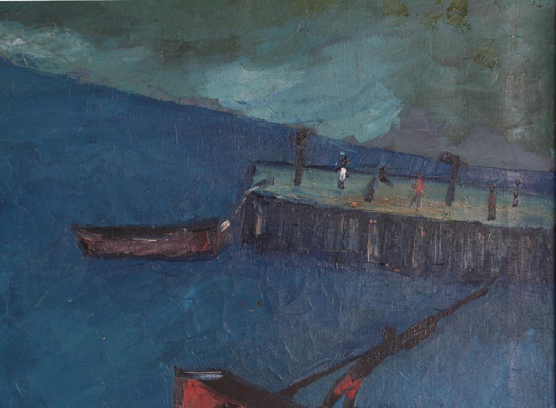 Manes Descollines Haitian Painting - 3