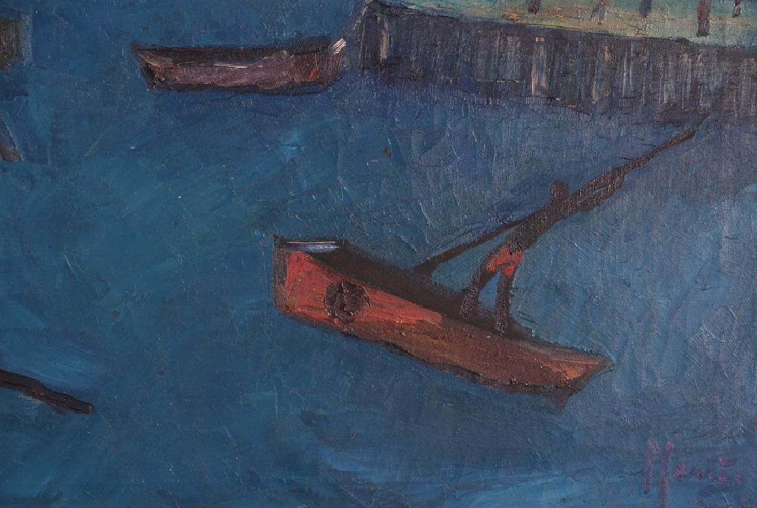 Manes Descollines Haitian Painting - 4