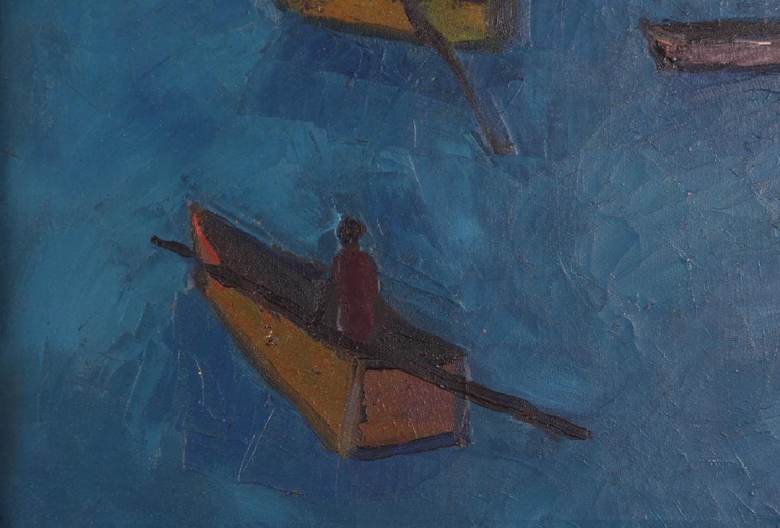Manes Descollines Haitian Painting - 5