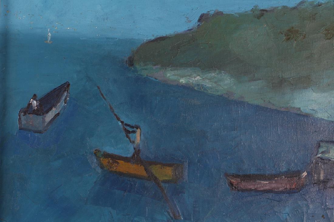Manes Descollines Haitian Painting - 6