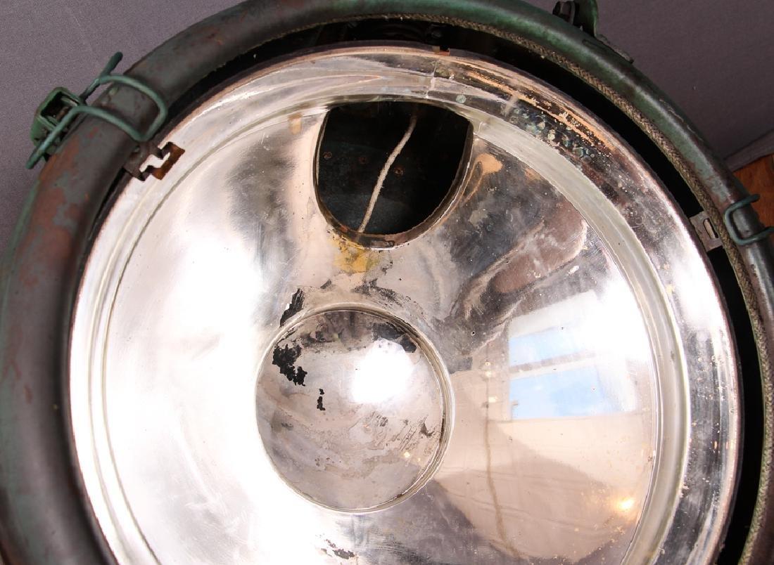 2 Industrial Age GE Copper Spotlights - 6