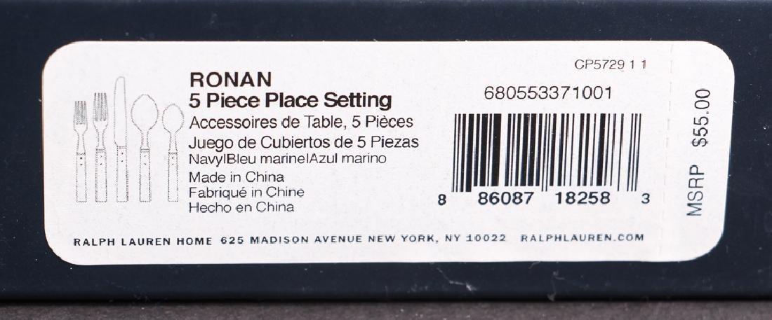 Ralph Lauren Ronan Pattern Flatware - 8