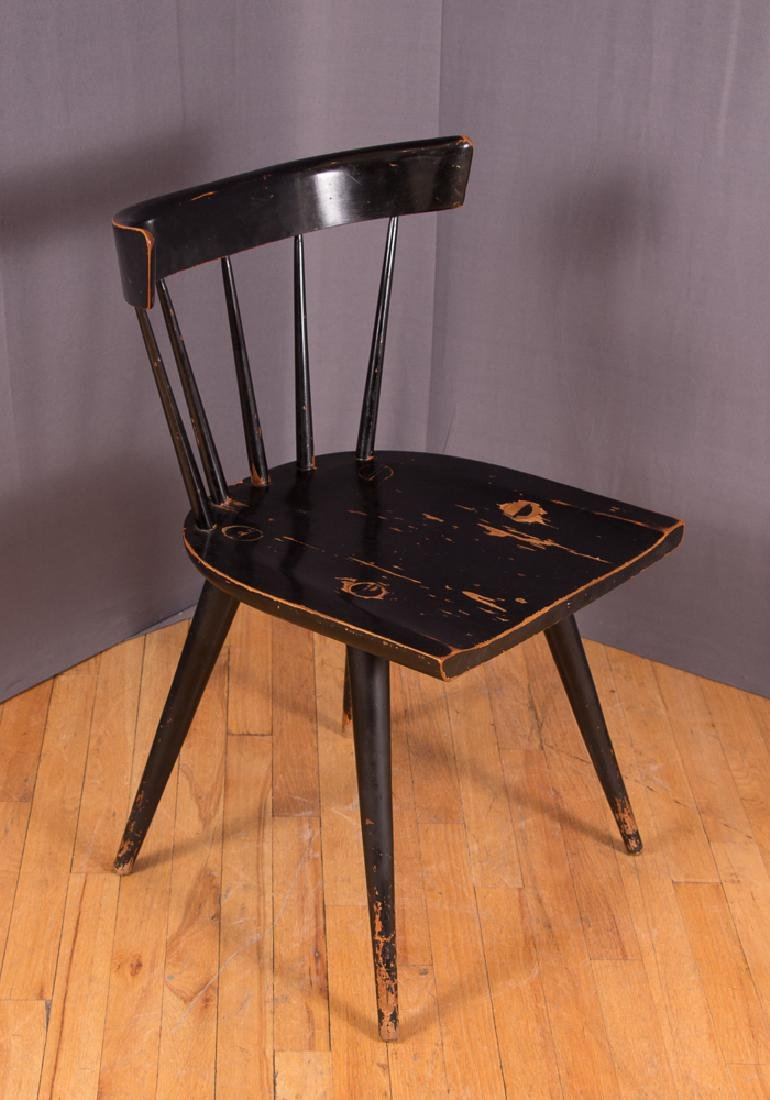 Paul McCobb Planner Group Ebonized Windsor Chair