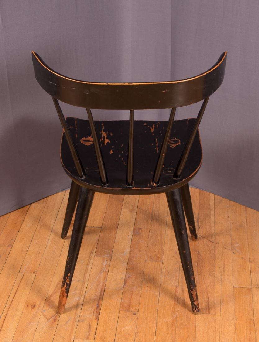 Paul McCobb Planner Group Ebonized Windsor Chair - 4