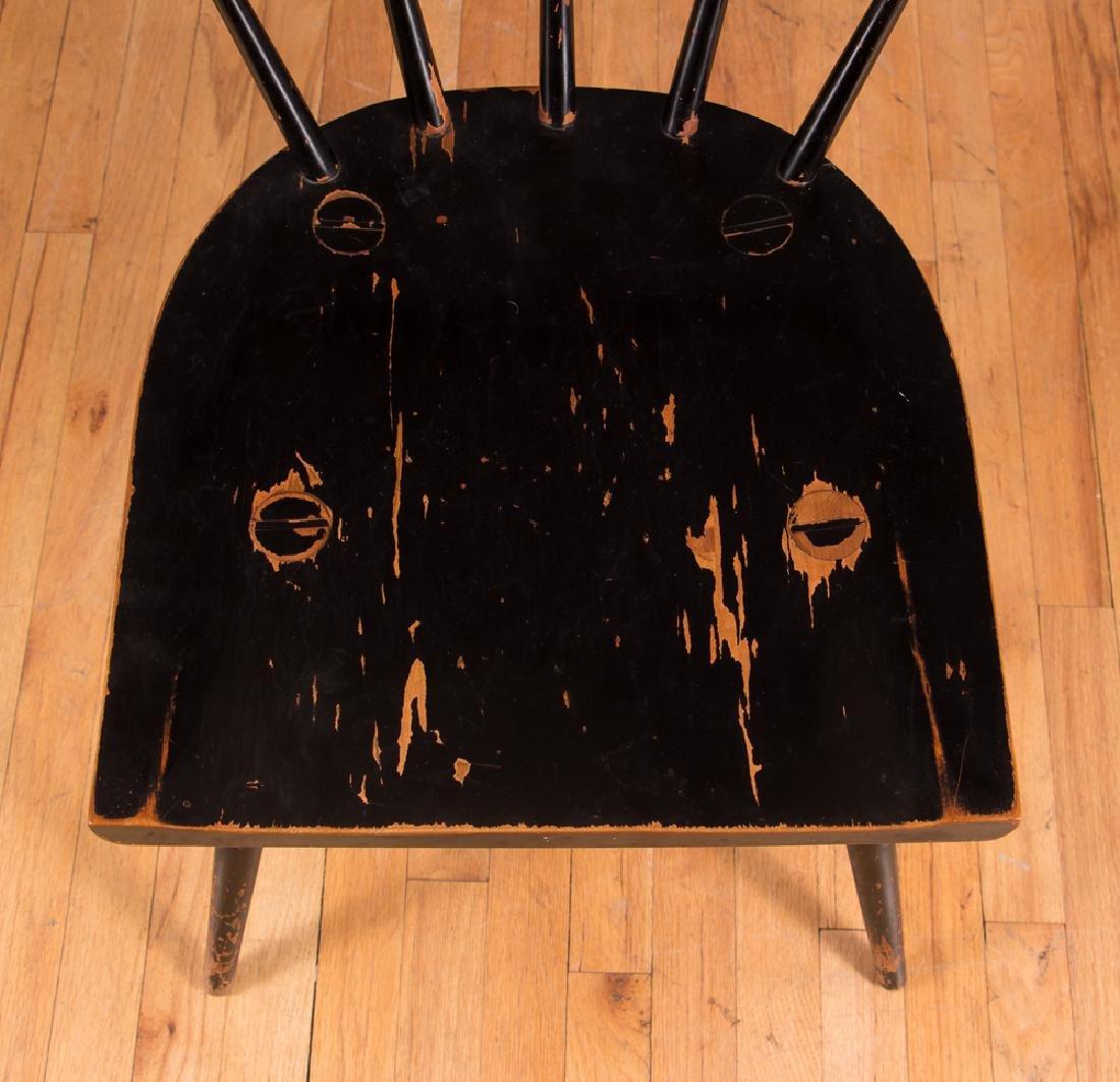 Paul McCobb Planner Group Ebonized Windsor Chair - 5