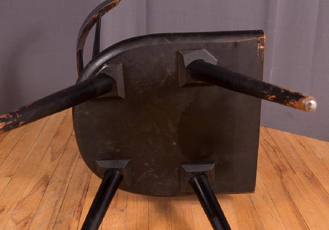 Paul McCobb Planner Group Ebonized Windsor Chair - 8