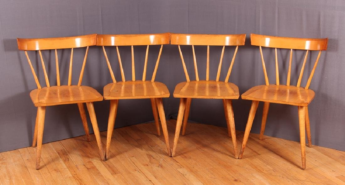 Four Paul McCobb Planner Group Dining Chairs
