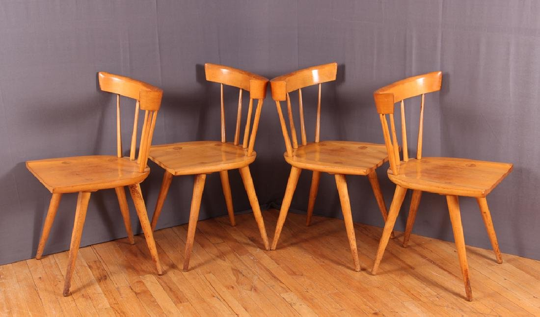 Four Paul McCobb Planner Group Dining Chairs - 2