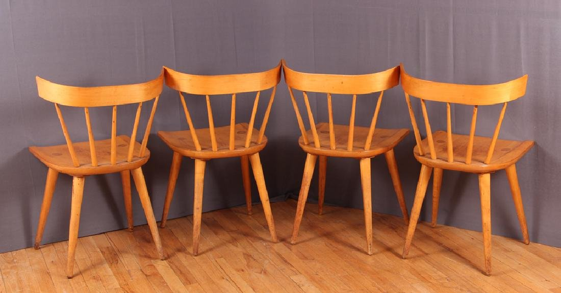 Four Paul McCobb Planner Group Dining Chairs - 3