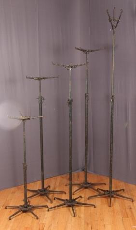 5 McCullum Industrial Flower Stands