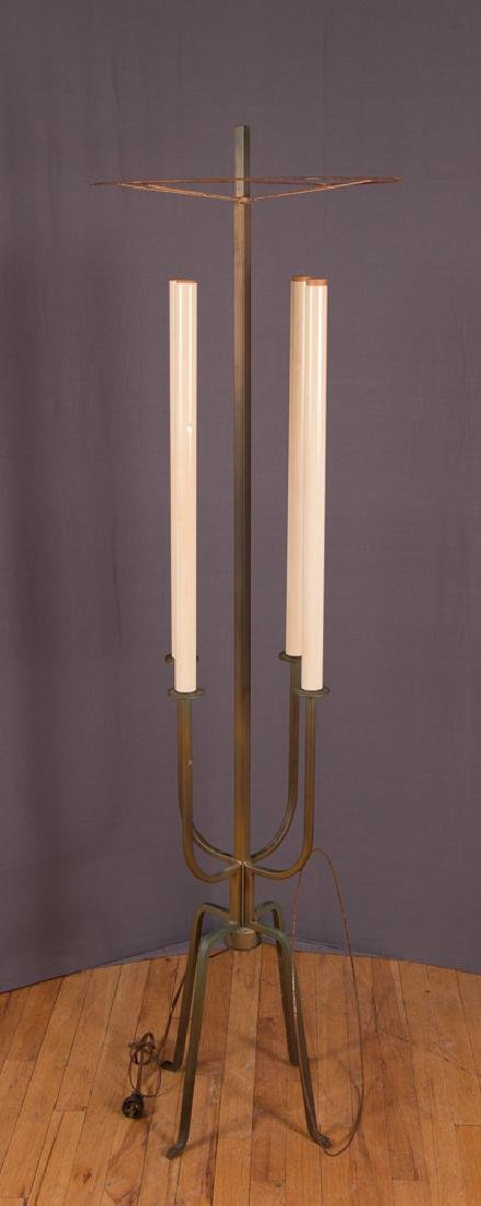 Attributed to Parzinger Atomic Age Floor Lamp