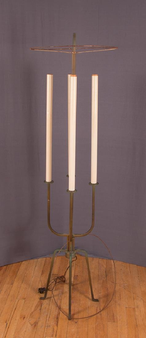 Attributed to Parzinger Atomic Age Floor Lamp - 2
