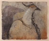 Donna Hollen Bolmgren Handmade Paper Painting