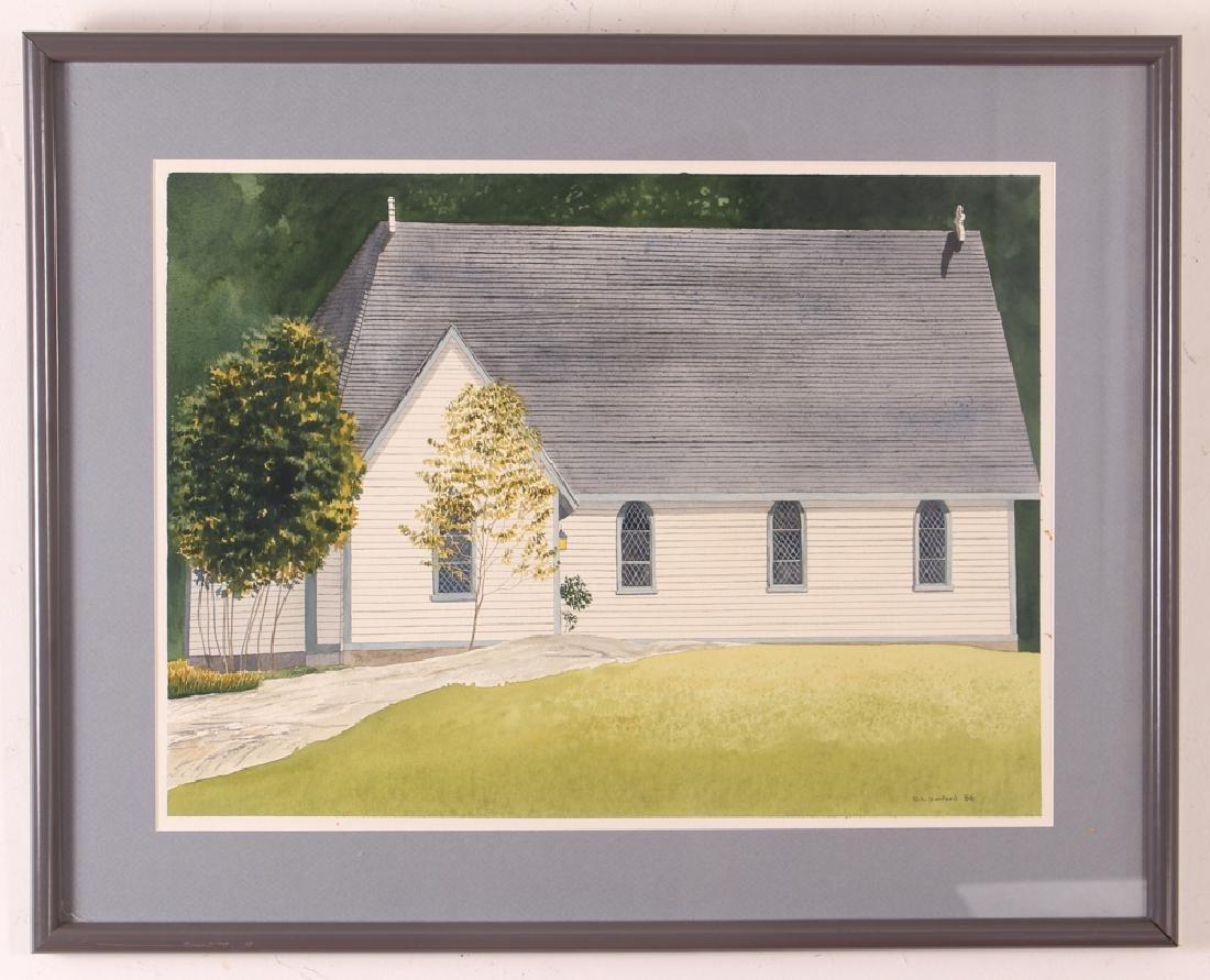 D. A. Dunford 1986 w/c Church in Ontario - 2