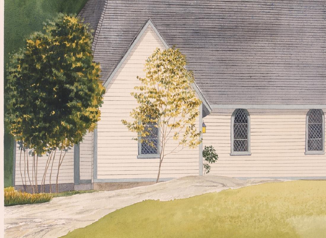 D. A. Dunford 1986 w/c Church in Ontario - 4