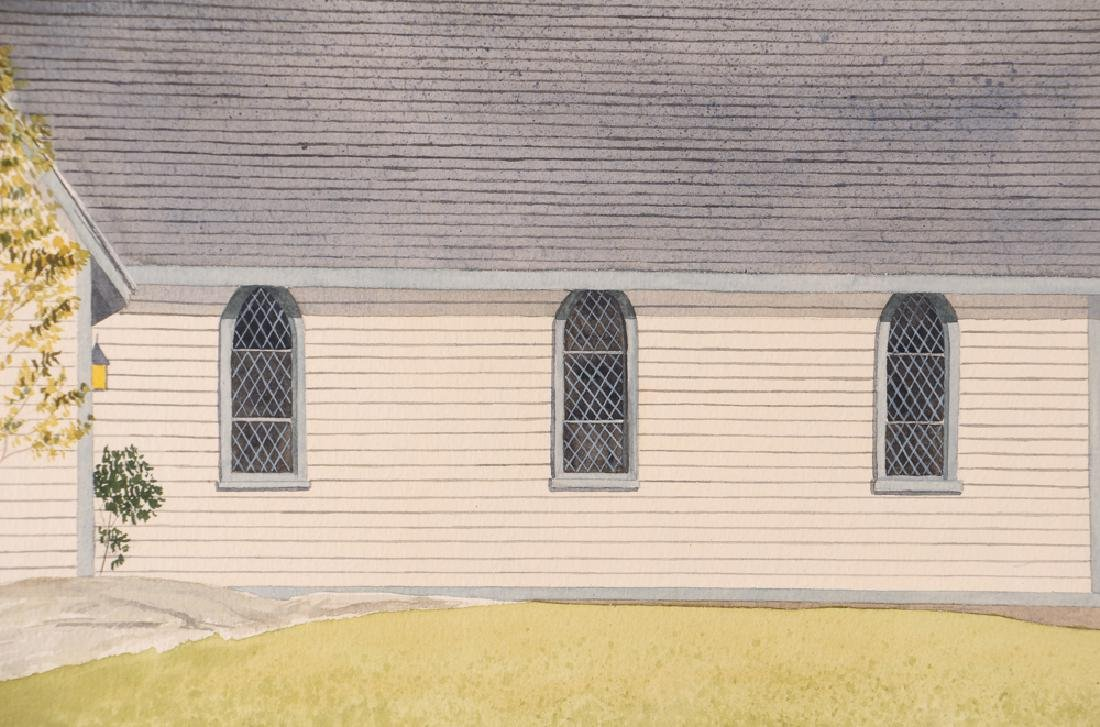 D. A. Dunford 1986 w/c Church in Ontario - 5